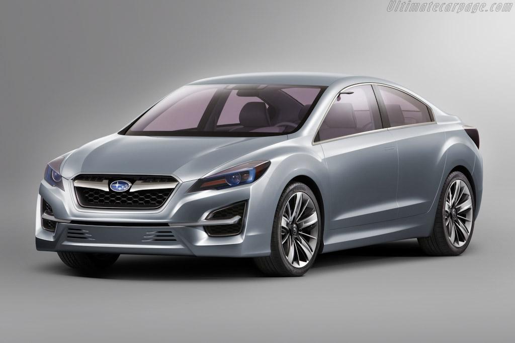 Click here to open the Subaru Impreza Design Concept gallery
