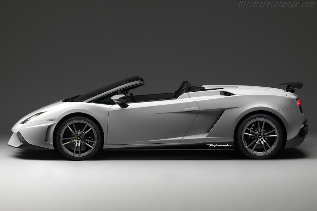 Lamborghini Gallardo LP570-4 Spyder Performante