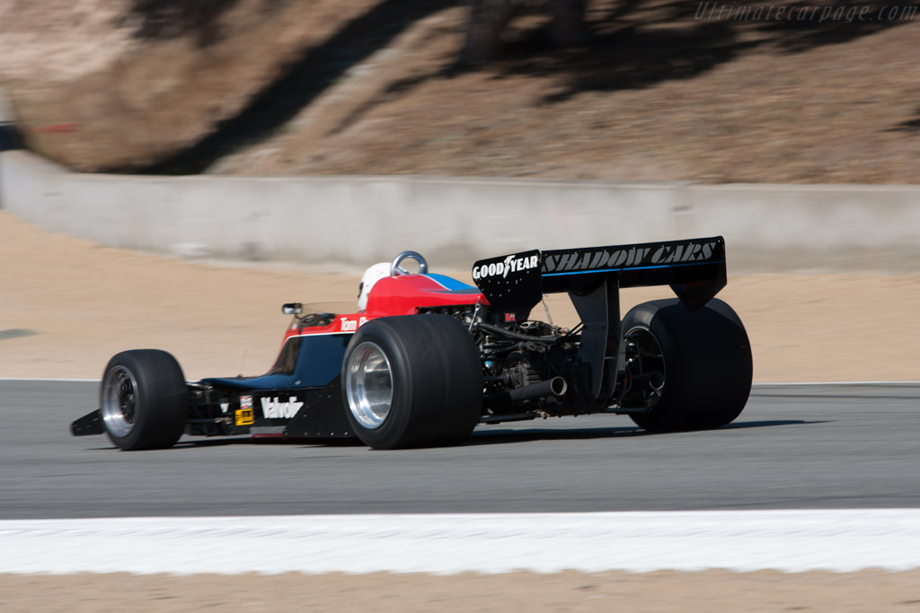 Shadow DN8 Cosworth - Chassis: DN8/1A   - 2010 Monterey Motorsports Reunion