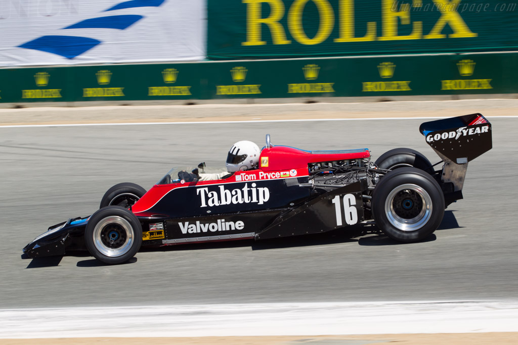 Shadow DN8 Cosworth - Chassis: DN8/1A   - 2013 Monterey Motorsports Reunion