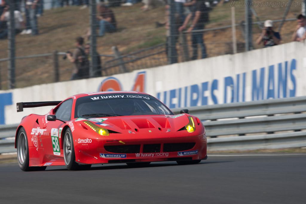 Ferrari 458 Italia GT2 - Chassis: 2834   - 2011 Le Mans Test