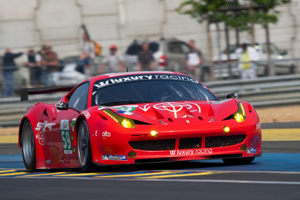 Ferrari 458 Italia GT2 - Chassis: 2832  - 2011 Le Mans Test
