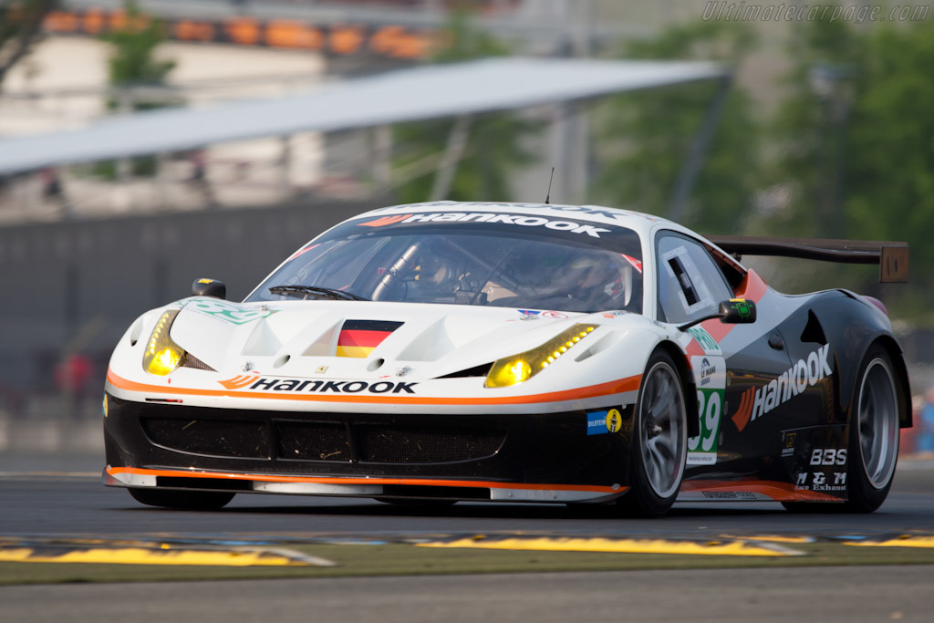 Ferrari 458 Italia GT2 - Chassis: 2830   - 2011 Le Mans Test
