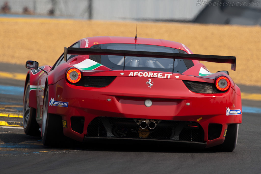 Ferrari 458 Italia GT2 - Chassis: 2826  - 2011 Le Mans Test