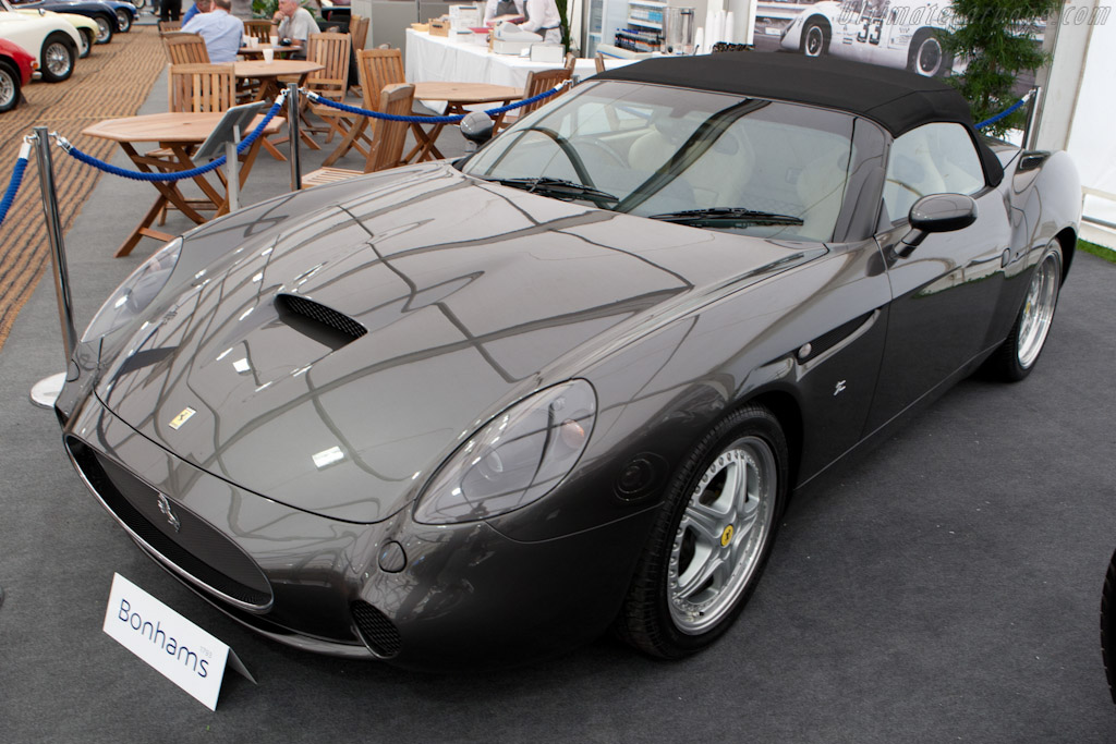 Click here to open the Ferrari 550 Barchetta Zagato gallery