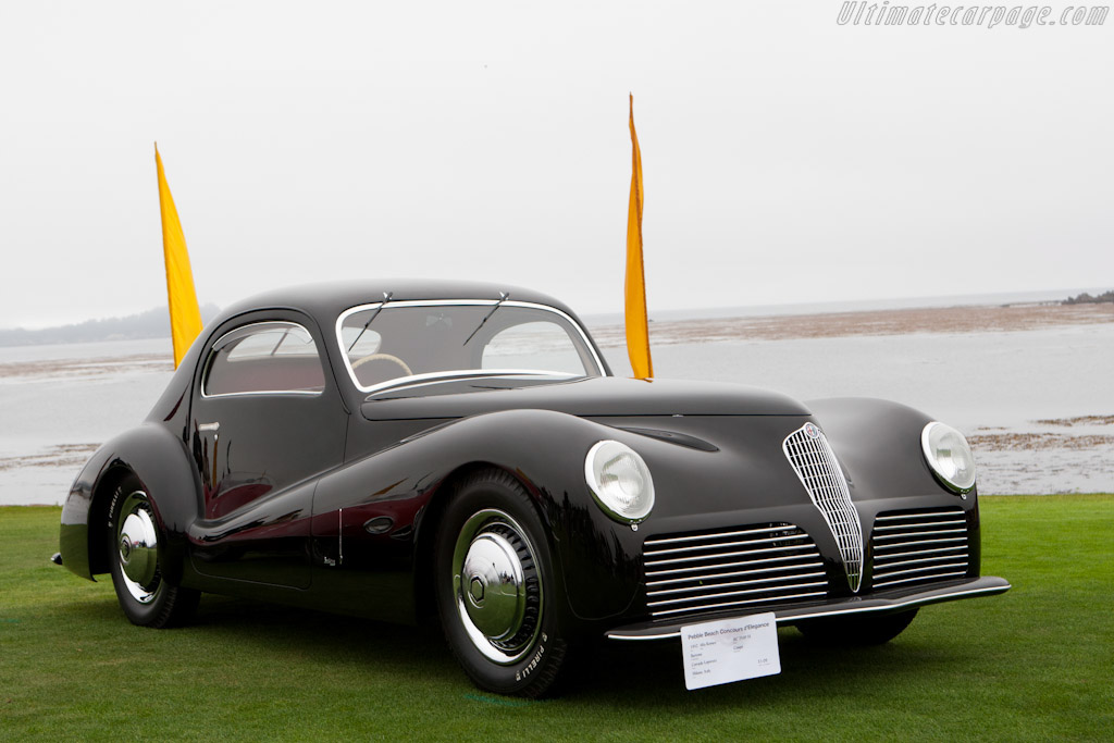1942 Alfa Romeo 6c 2500 Ss Bertone Coupe Images Specifications And Information