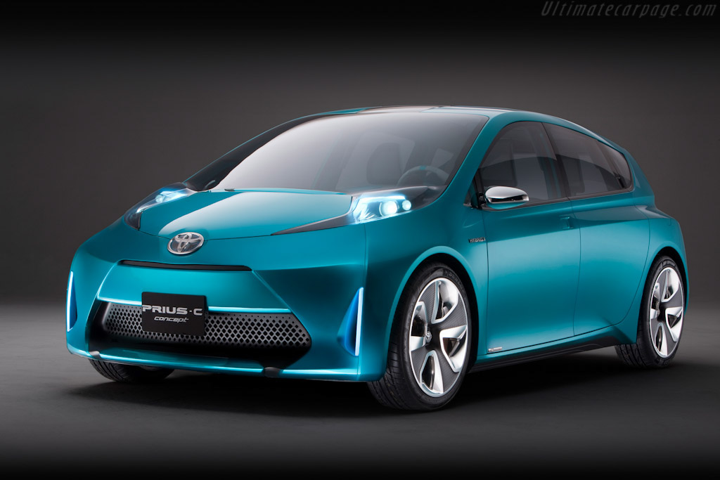 Click here to open the Toyota Prius c Concept gallery