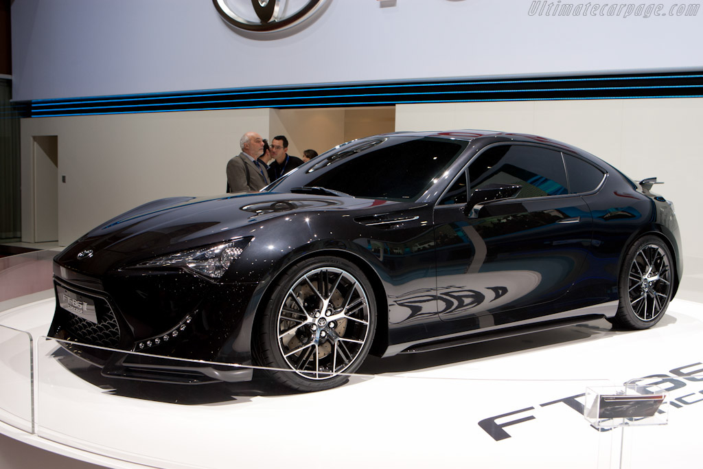 Toyota FT-86 II Concept    - 2011 Geneva International Motor Show