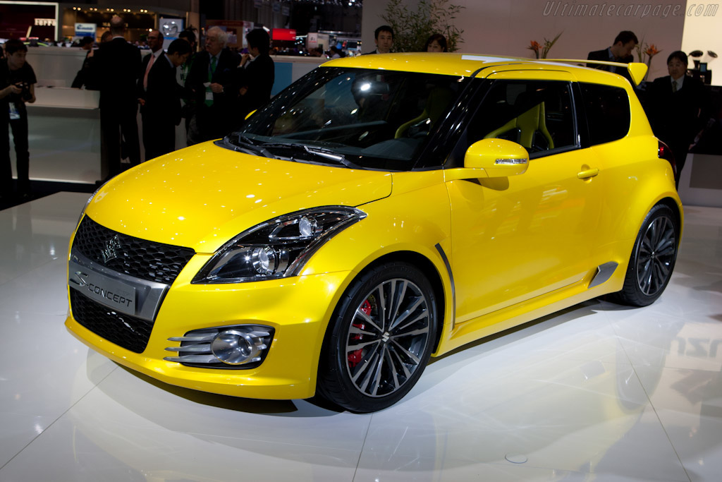 2011 suzuki swift s concept images specifications and information. Black Bedroom Furniture Sets. Home Design Ideas