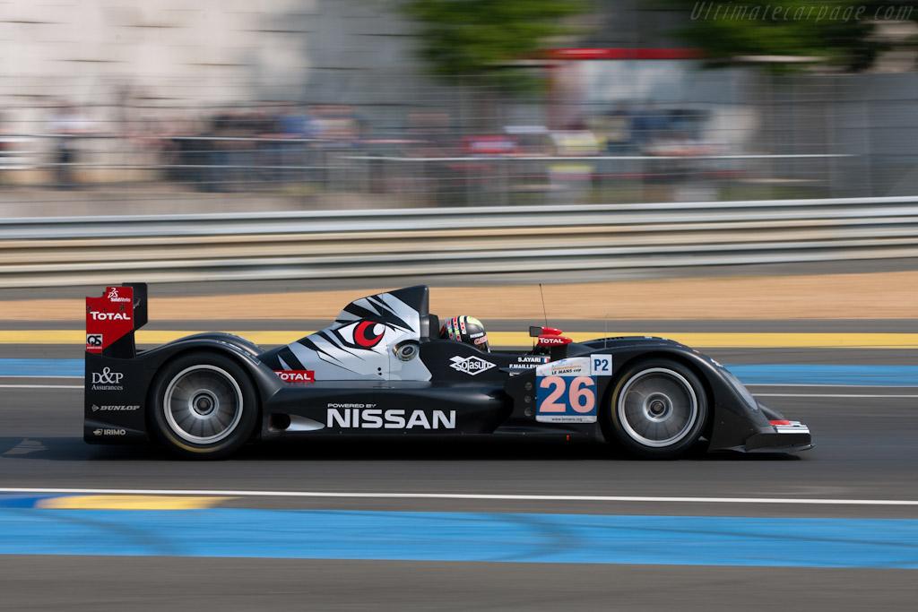 Oreca 03 Nissan - Chassis: 01   - 2011 Le Mans Test