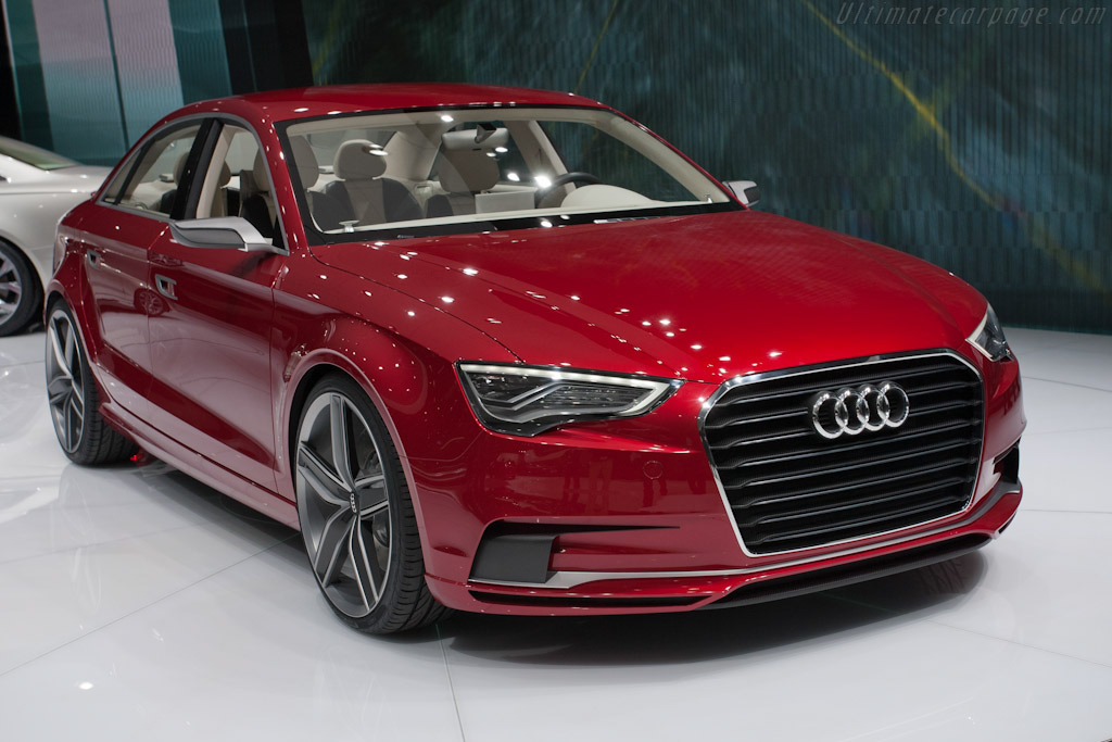 Click here to open the Audi A3 Concept gallery