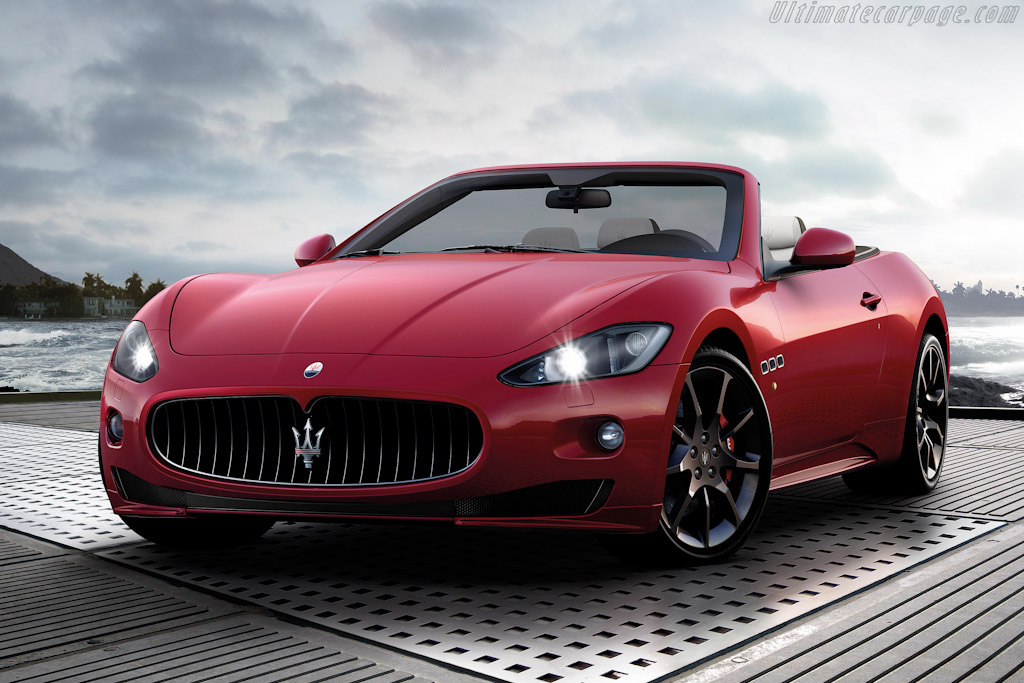 Click here to open the Maserati GranCabrio Sport gallery