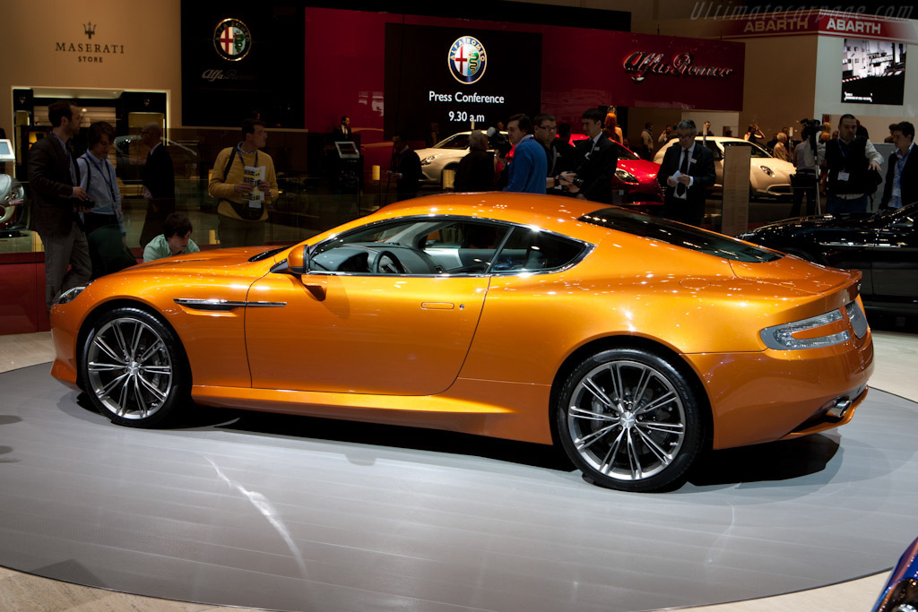 Aston Martin Virage    - 2011 Geneva International Motor Show