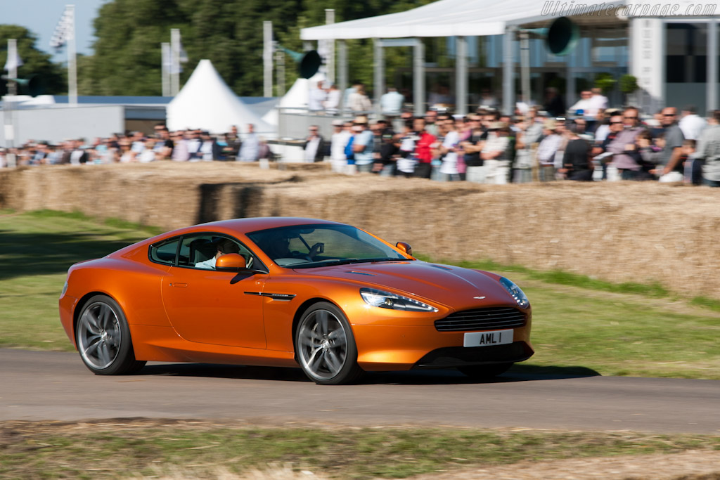 Aston Martin Virage    - 2011 Goodwood Festival of Speed