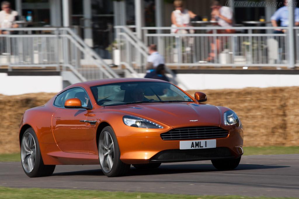 Aston Martin Virage    - 2011 Goodwood Festival of Speed