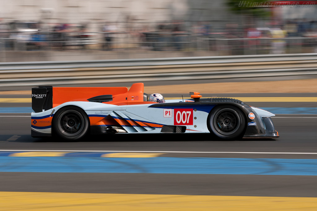 Aston Martin AMR-One    - 2011 Le Mans Test