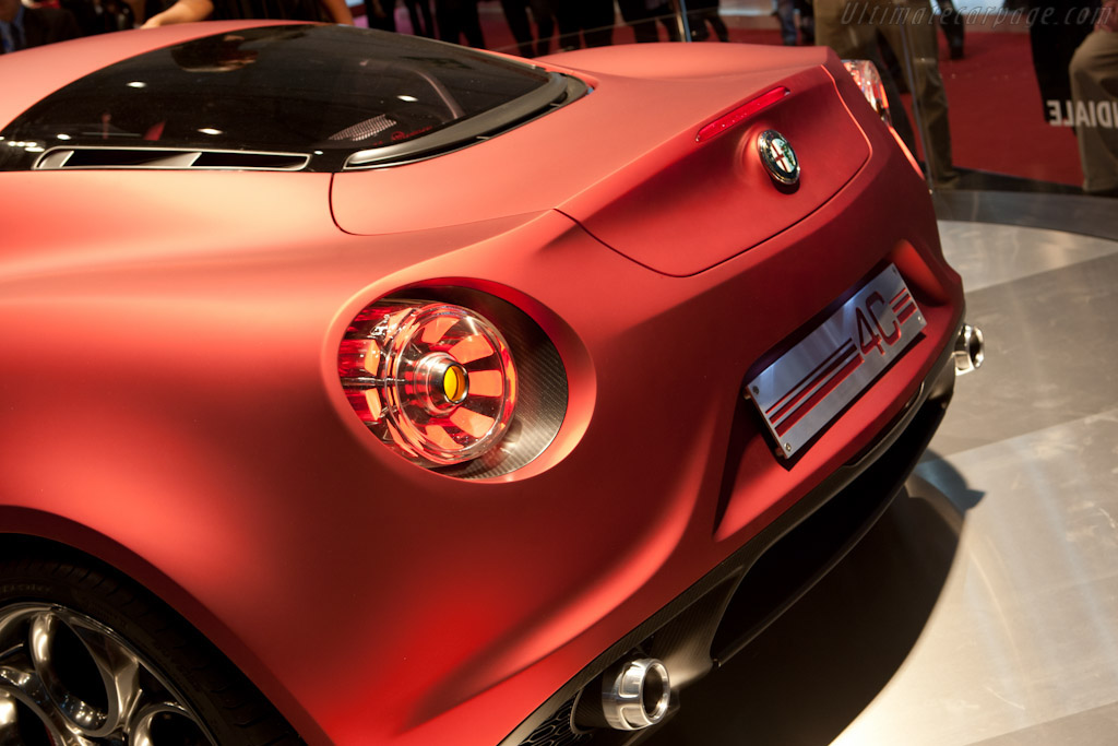 Alfa Romeo 4c Concept 2011 Geneva International Motor Show
