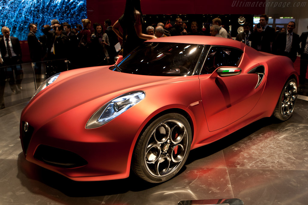Click here to open the Alfa Romeo 4C Concept gallery