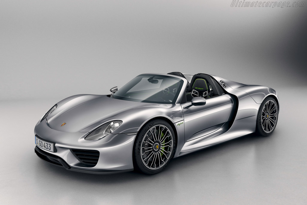 Click here to open the Porsche 918 Spyder gallery