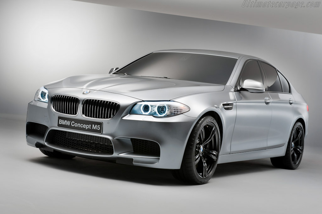 Click here to open the BMW Concept M5 gallery