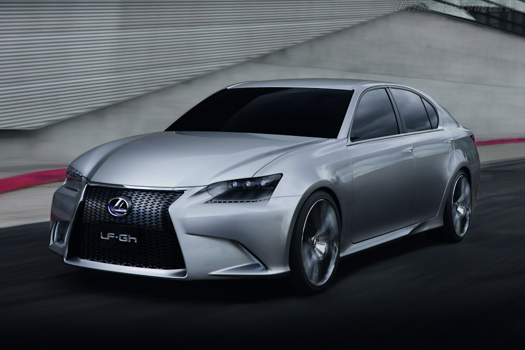 Click here to open the Lexus LF-Gh Concept gallery