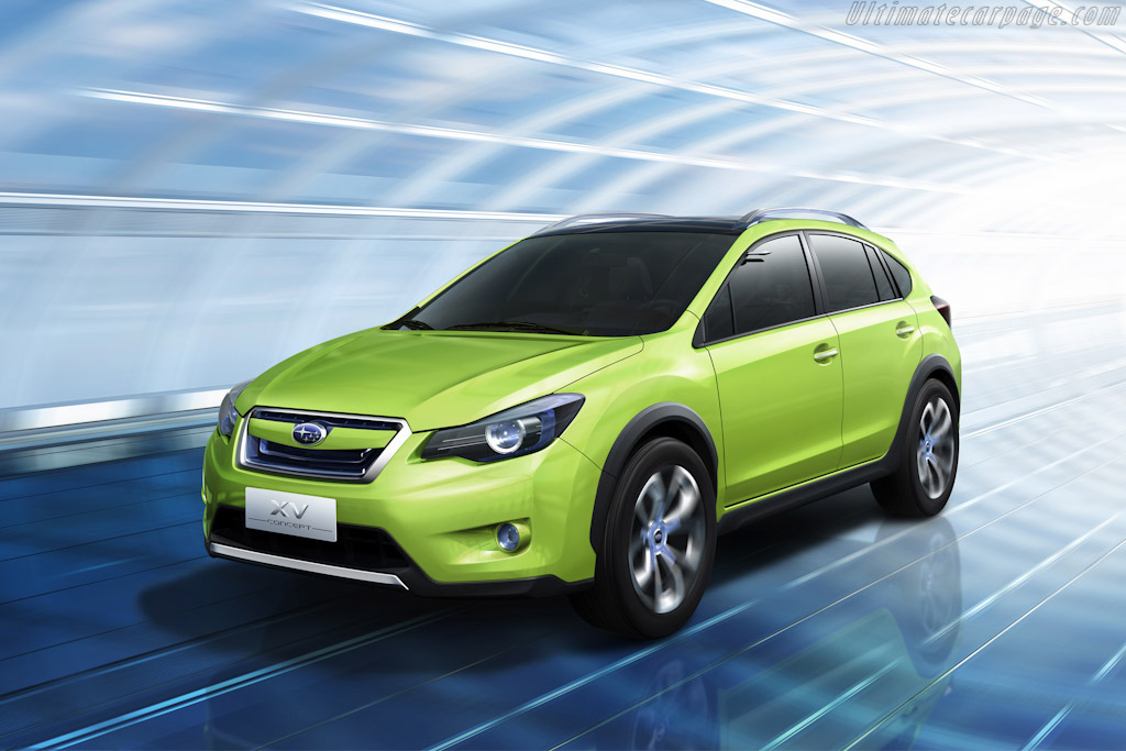 Click here to open the Subaru XV Concept gallery