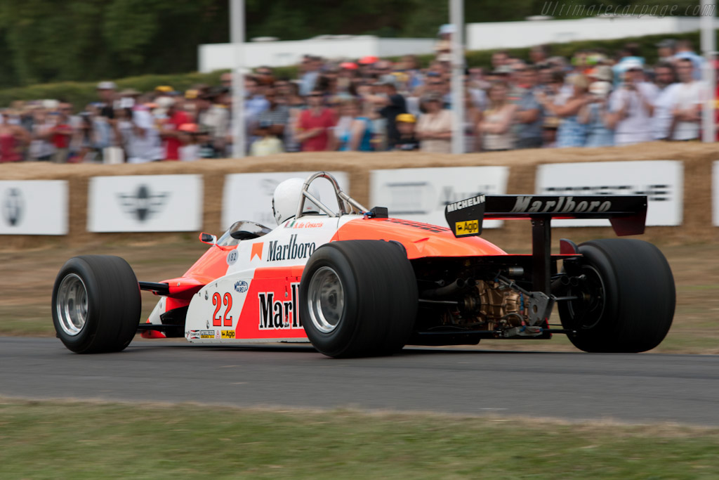 Alfa Romeo 182 F1 - Chassis: 182/6   - 2010 Goodwood Festival of Speed