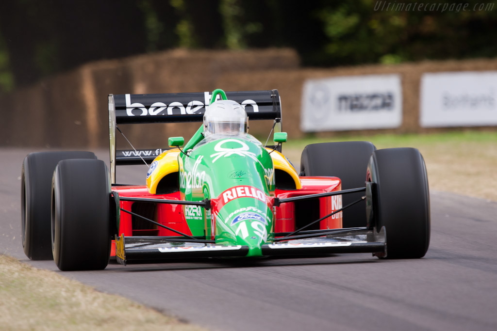 Benetton B188 Ford - Chassis: B188-01   - 2009 Goodwood Festival of Speed