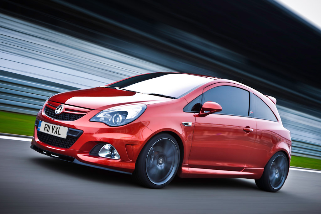Click here to open the Vauxhall Corsa VXR Nürburgring Edition gallery