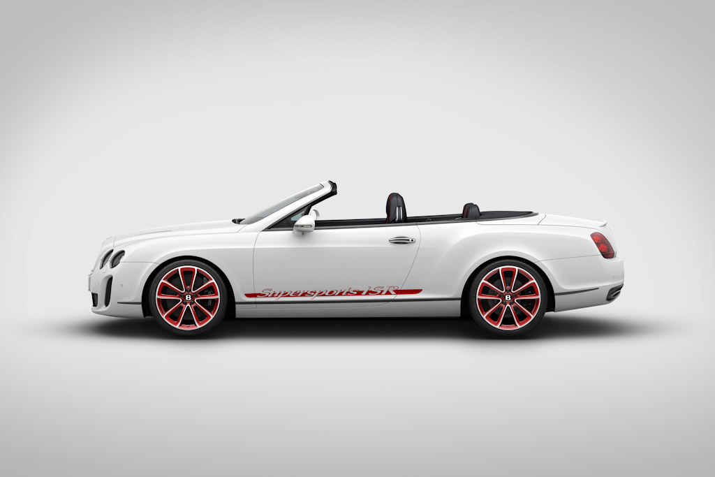Click here to open the Bentley Continental Supersports Convertible ISR gallery