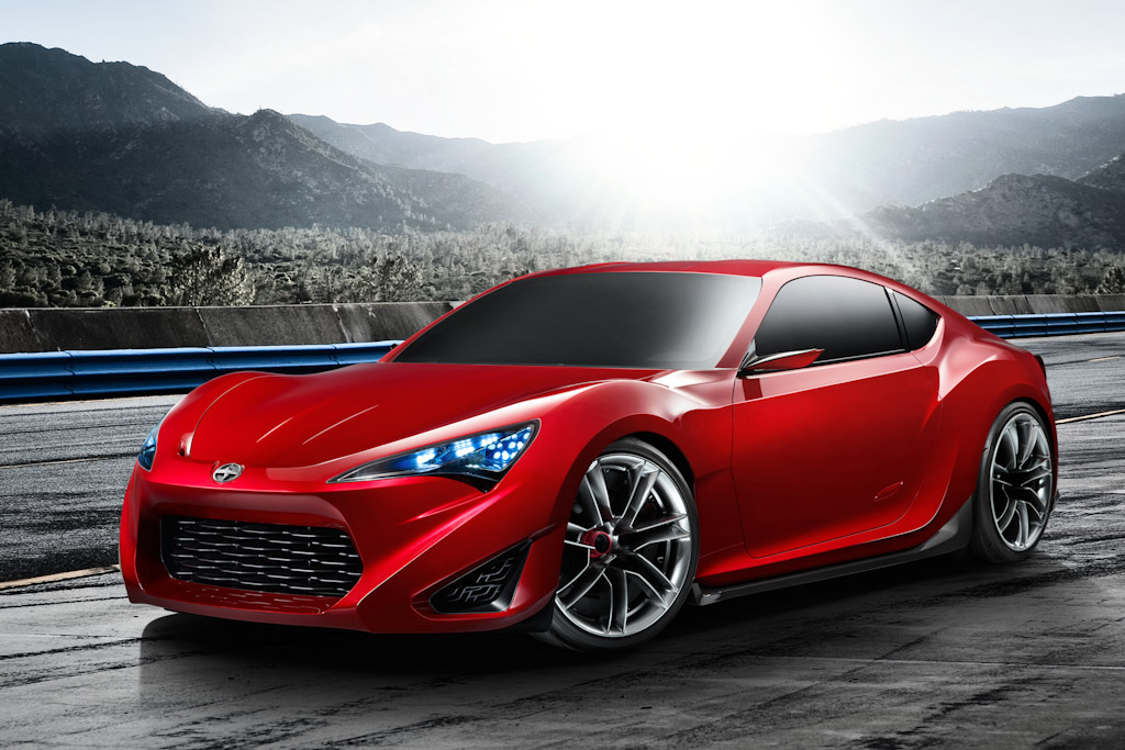 Click here to open the Scion FR-S Sports Coupe Concept gallery