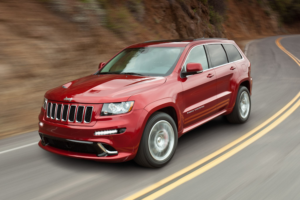 Click here to open the Jeep Grand Cherokee SRT8 gallery