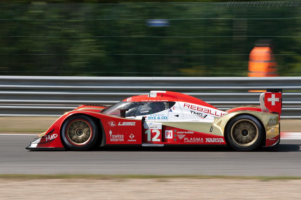 Lola B10/60 Toyota - Chassis: B1060-HU01   - 2011 Le Mans Series Spa 1000 km (ILMC)