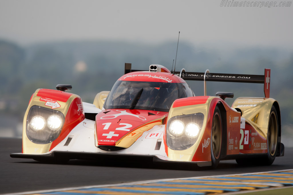 Lola B10/60 Toyota - Chassis: B1060-HU01   - 2011 Le Mans Test