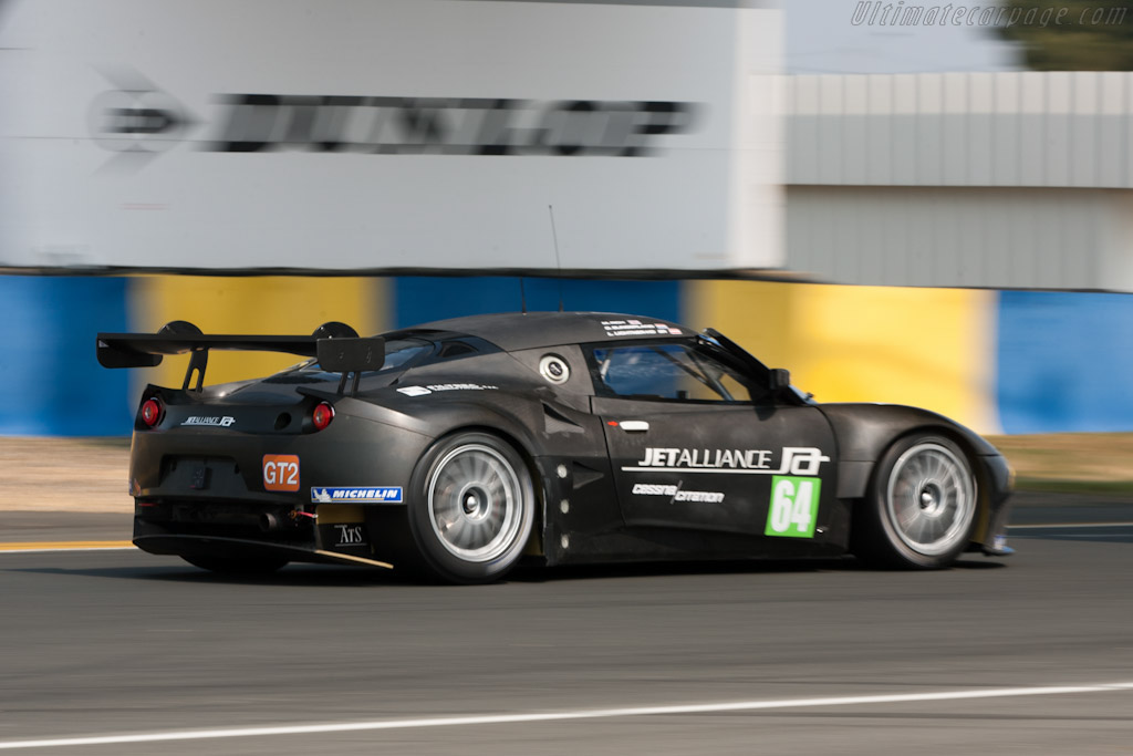 Lotus Evora GTE - Chassis: C001-001   - 2011 Le Mans Test