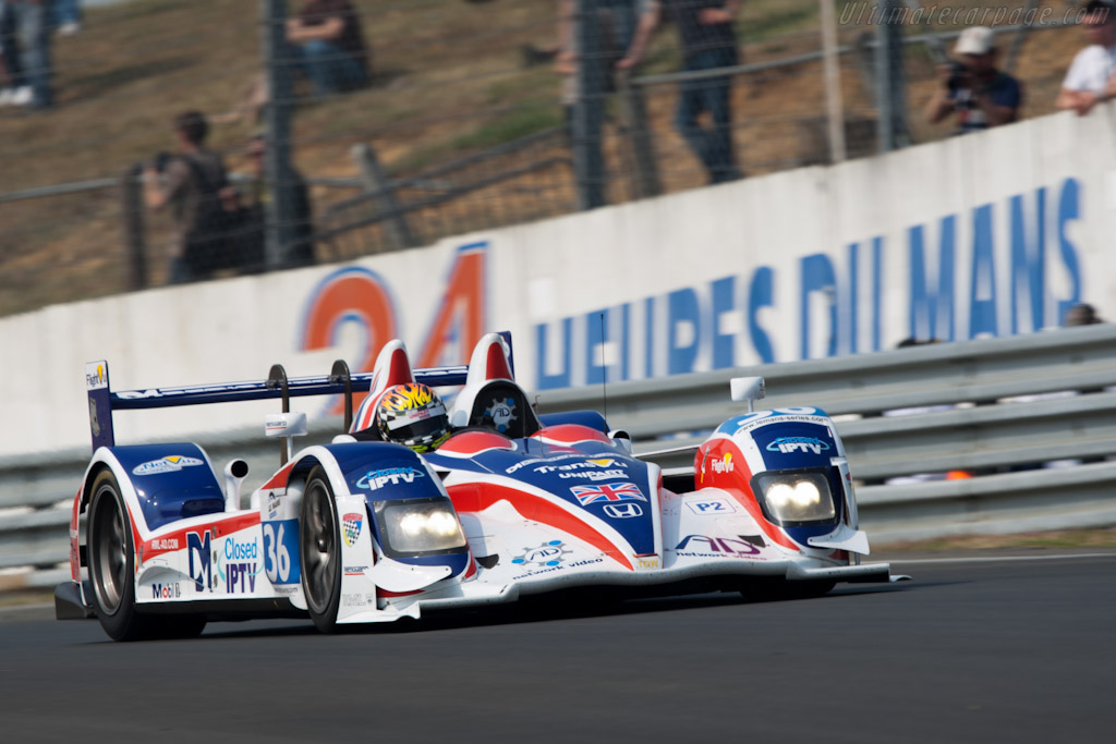 HPD ARX-01d - Chassis: 12  - 2011 Le Mans Test