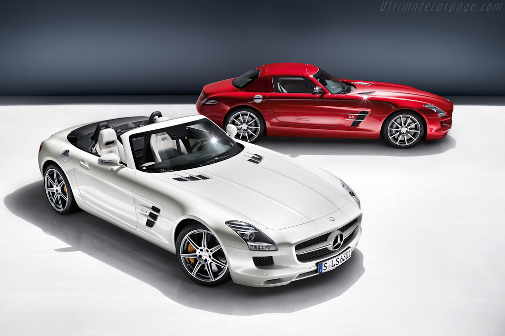 Click here to open the Mercedes-Benz SLS AMG Roadster gallery