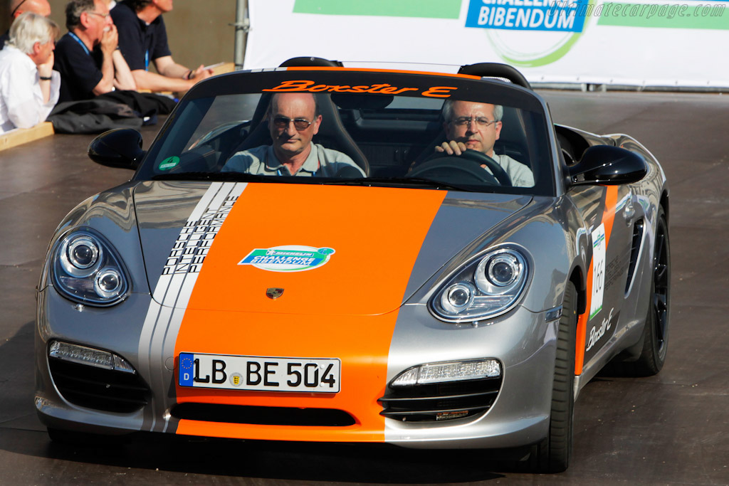 Click here to open the Porsche Boxster E gallery