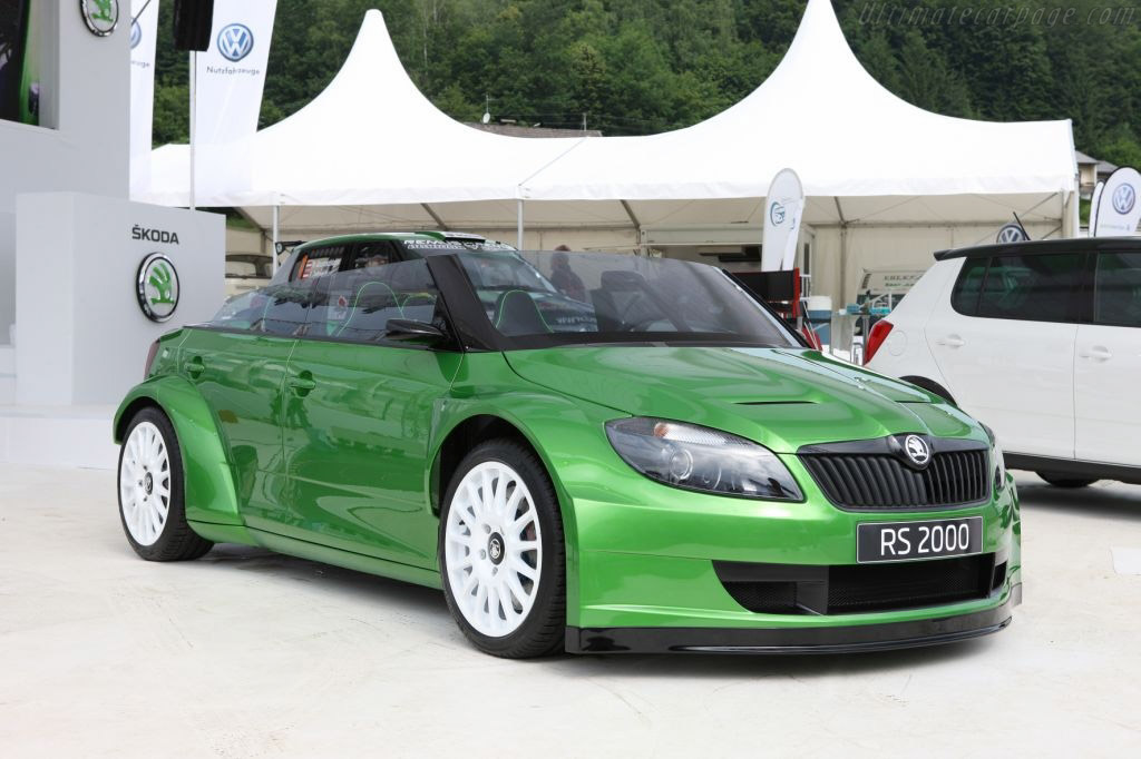 Click here to open the Skoda Fabia vRS 2000 Concept gallery