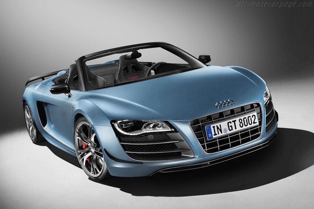 Click here to open the Audi R8 GT Spyder gallery