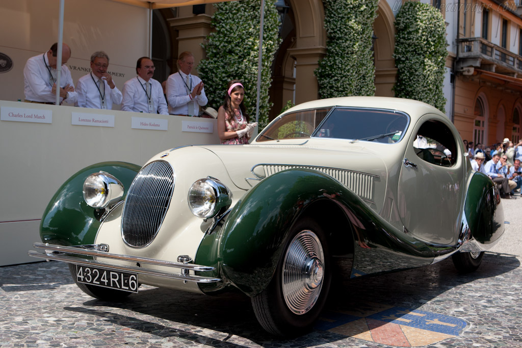 Talbot Lago T23 Figoni & Falaschi Teardrop Coupé - Chassis: 93041   - 2011 Concorso d'Eleganza Villa d'Este