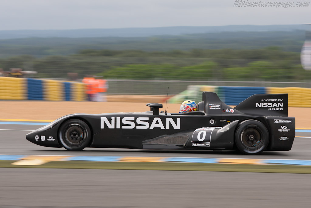 Nissan DeltaWing - Chassis: DWLM12001   - 2012 Le Mans Test