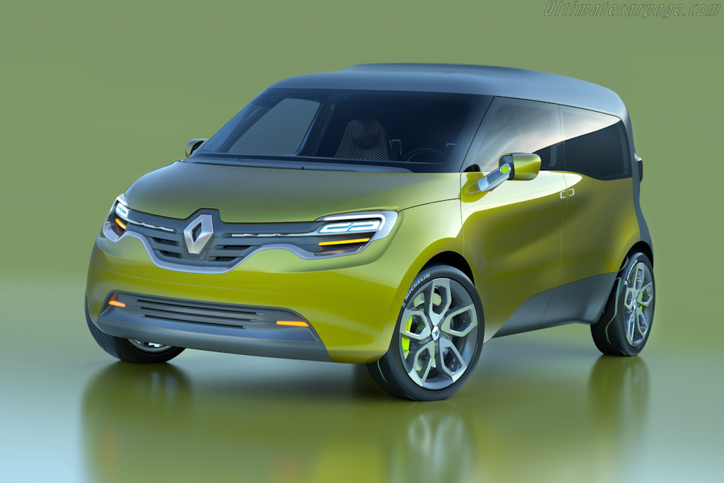 Click here to open the Renault Frendzy Concept gallery