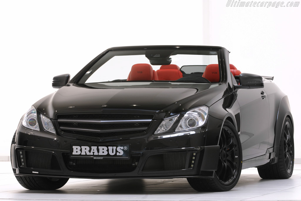 Click here to open the Brabus E V12 Cabriolet gallery