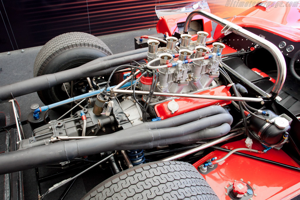 McLaren M1B Chevrolet - Chassis: 1-66   - 2011 Goodwood Festival of Speed