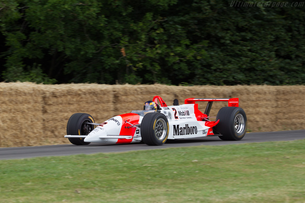 Penske PC23 Mercedes - Chassis: PC23/003 - Driver: Karl Wendlinger  - 2017 Goodwood Festival of Speed