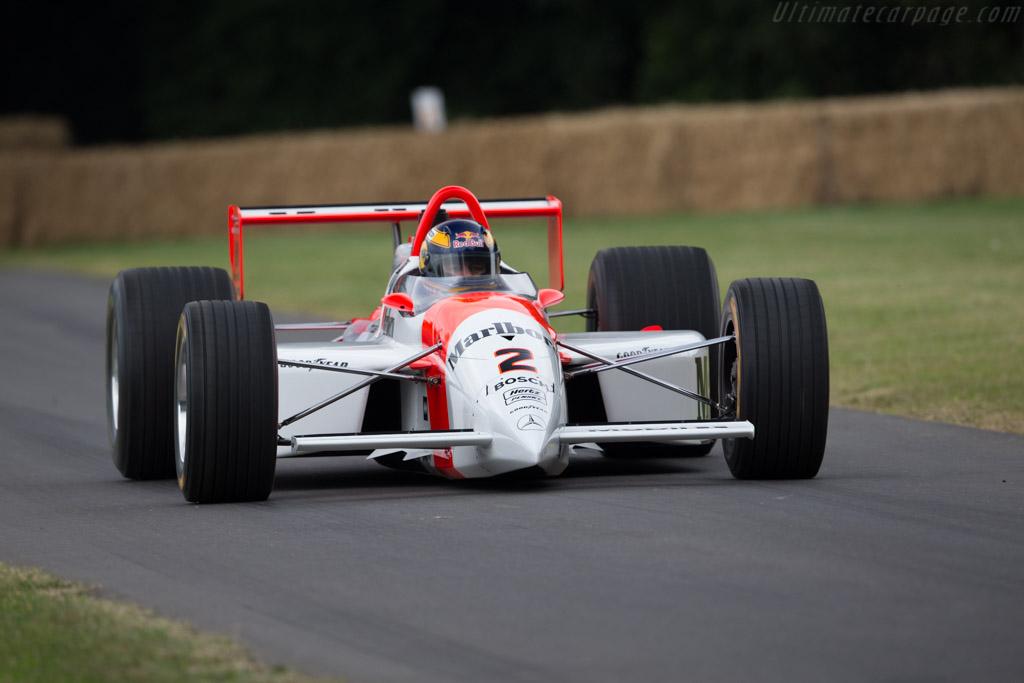 Penske PC23 Mercedes - Chassis: PC23/003 - Driver: Karl Wendlinger  - 2017 Goodwood Festival of Speed
