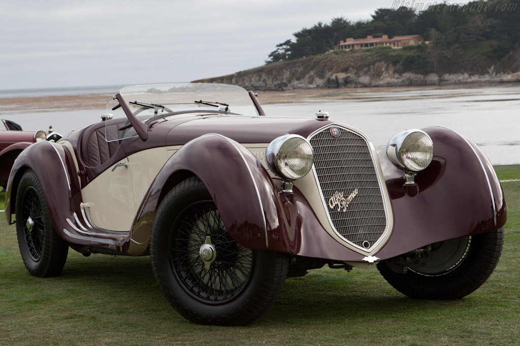 Alfa Romeo 8C 2900A Spider - Chassis: 412007   - 2010 Pebble Beach Concours d'Elegance