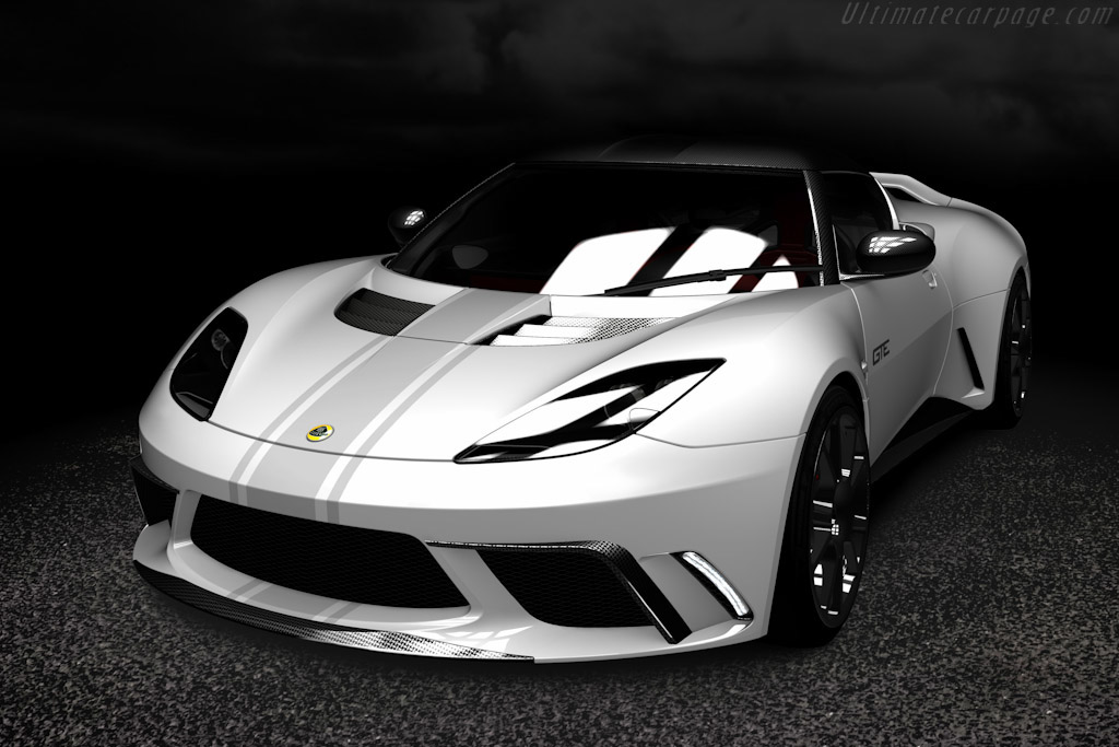 Click here to open the Lotus Evora GTE Road Car Concept gallery