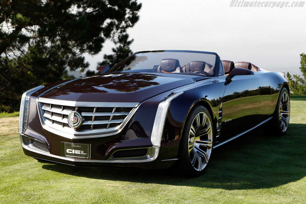 Click here to open the Cadillac Ciel Concept gallery